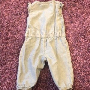 Carter's One Pieces - Baby Girl Chambray Romper Sz 3 Months